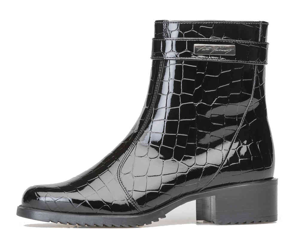 1a8a2f87e Pertti Palmroth ankle boot patent croco - High quality shoes for women