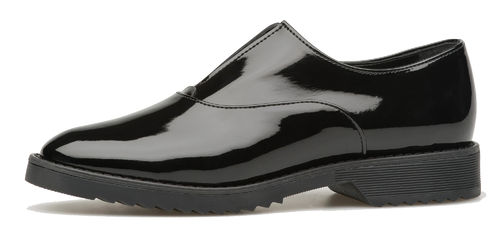 Oxford black matt patent 85002