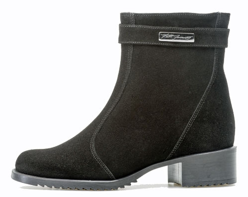 Pertti Palmroth Classics ankle boot black suede
