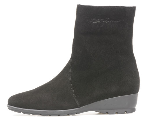 Pertti Palmroth ankle boot black suede -40%