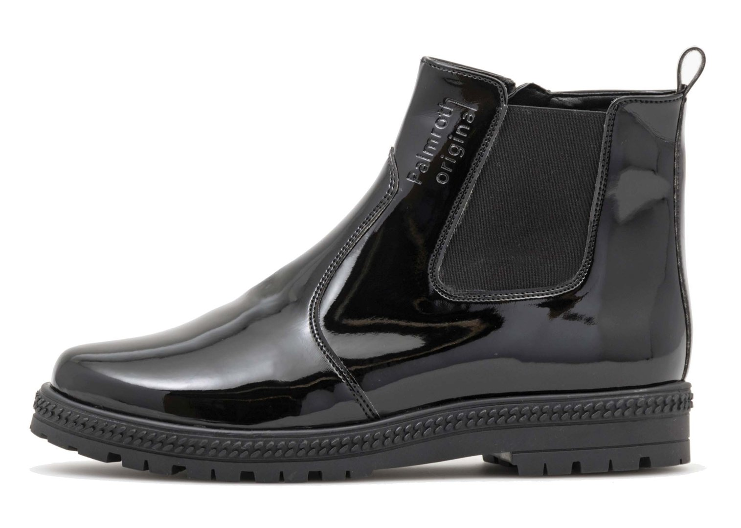 Chelsea boot with zipper 83163 - High