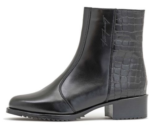 Pertti Palmroth ankle boot all-weather/croco