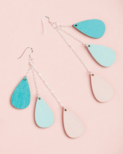 Uhana Design Drop earrings, pastels