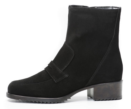 Palmroth ankle boot black suede 83167 -30%