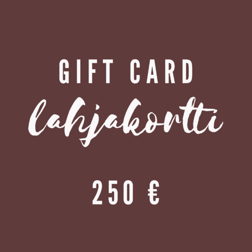 Gift Card 250 €