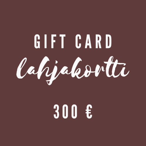 Gift Card 300 €