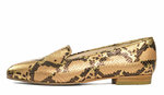 Emelie loafer Blush gold snake 85064